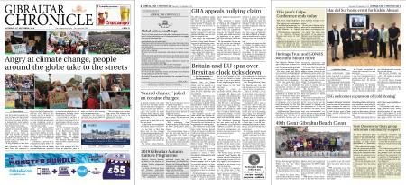Gibraltar Chronicle – 21 September 2019