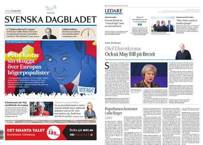 Svenska Dagbladet – 25 maj 2019