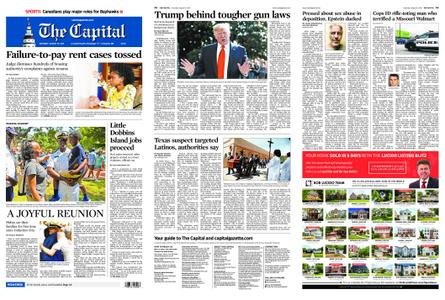 The Capital – August 10, 2019