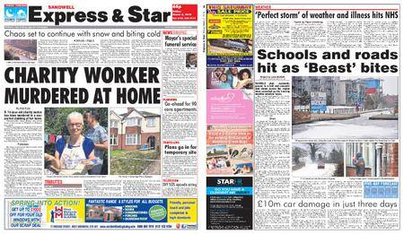 Express and Star Sandwell Edition – March 02, 2018