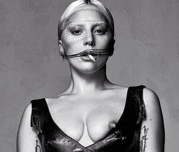 Lady Gaga & Daphne Guinness by Steven Klein for V Magazine #99 Spring Preview 2016
