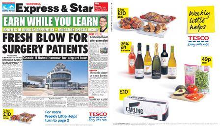 Express and Star Sandwell Edition – August 23, 2018