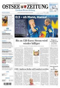 Ostsee Zeitung Wolgast - 06. November 2017