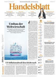Handelsblatt - 15 September 2021