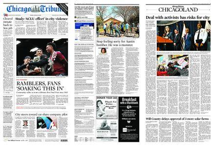 Chicago Tribune – March 26, 2018