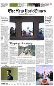 International New York Times - 29 May 2018
