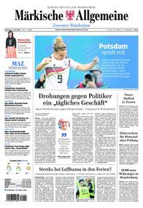 Märkische Allgemeine Zossener Rundschau - 21. Juni 2019