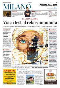Corriere della Sera Milano – 24 aprile 2020