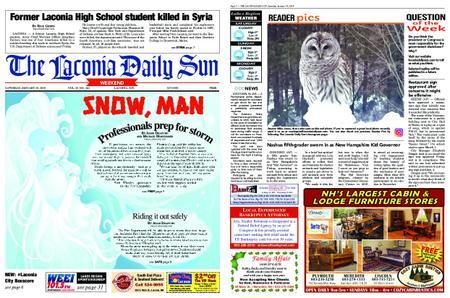 The Laconia Daily Sun – January 19, 2019
