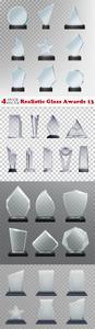 Vectors - Realistic Glass Awards 13