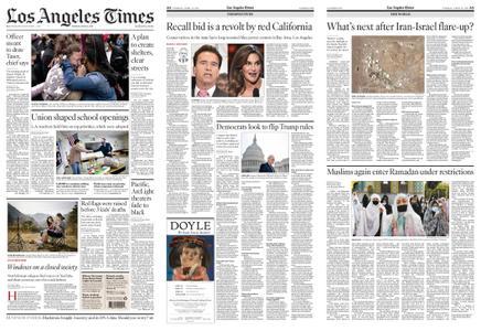 Los Angeles Times – April 13, 2021