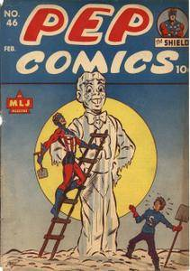 Some 40s  50s Archie  Friends -Pep Comics 46 1944
