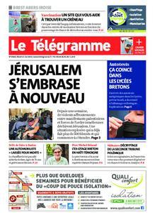 Le Télégramme Brest Abers Iroise – 11 mai 2021