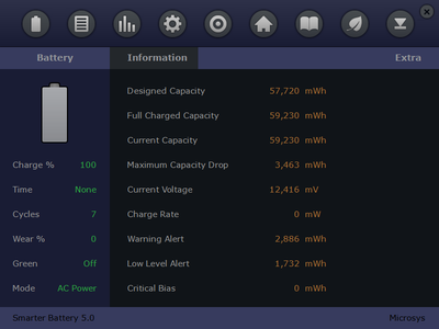 Microsys Smarter Battery 5.1