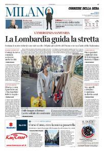 Corriere della Sera Milano – 12 marzo 2020