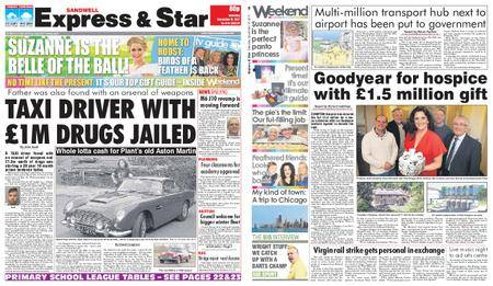 Express and Star Sandwell Edition – December 16, 2017