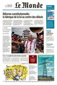 Le Monde du Mercredi 27 Juin 2018