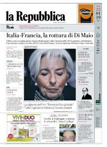 la Repubblica - 22 Gennaio 2019