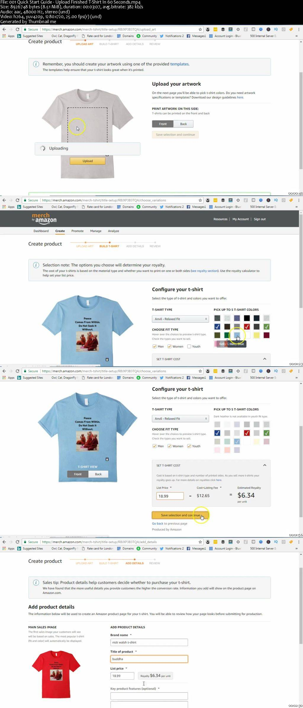 New 2017 Start A T-Shirt Affiliate Business With No Money