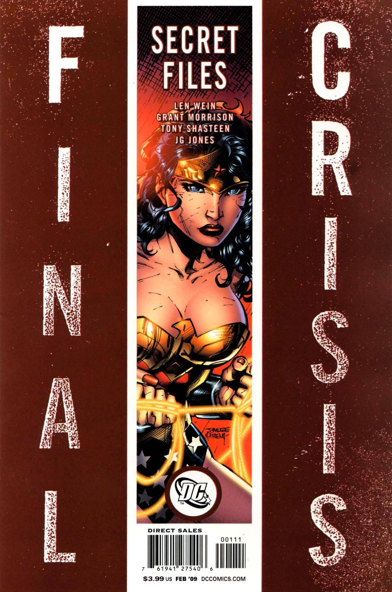 Final Crisis - Secret Files (2009)