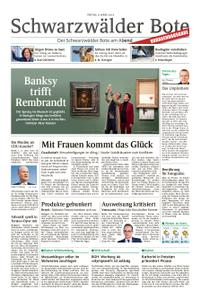Schwarzwälder Bote St. Georgen, Triberg, Furtwangen - 08. März 2019