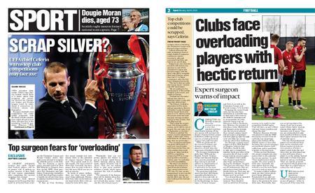 The Herald Sport (Scotland) – April 06, 2020