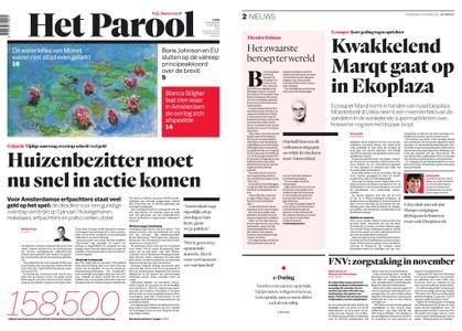 Het Parool – 17 oktober 2019