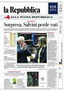 la Repubblica – 10 maggio 2019