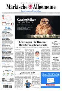 Märkische Allgemeine Luckenwalder Rundschau - 29. Juni 2018