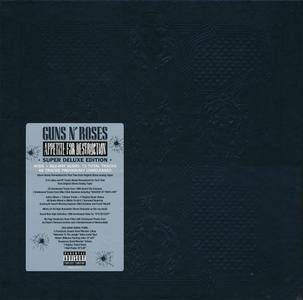 Guns N' Roses - Appetite For Destruction (1987) [2018, 4CD + Blu-ray Super Deluxe Box Set]