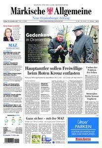 Neue Oranienburger Zeitung - 10. November 2017