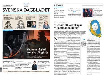 Svenska Dagbladet – 19 oktober 2019