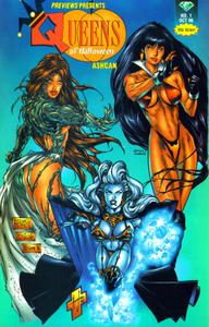 Preview-Queens of Halloween-Witchblade, Lady Death, Vampirella
