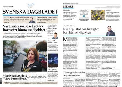 Svenska Dagbladet – 23 april 2018