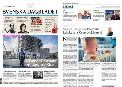 Svenska Dagbladet – 22 februari 2020