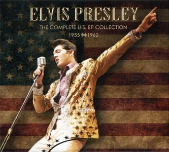 Elvis Presley - The Complete U.S. EP Collection 1955-1962 (2019) {4CD Box Set}