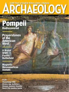 Archaeology Magazine - July/August 2019