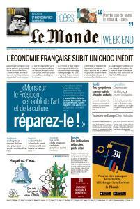 Le Monde du Samedi 2 Mai 2020