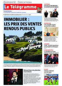 Le Télégramme Concarneau – 12 mai 2019