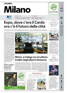 la Repubblica Milano - 11 Marzo 2019