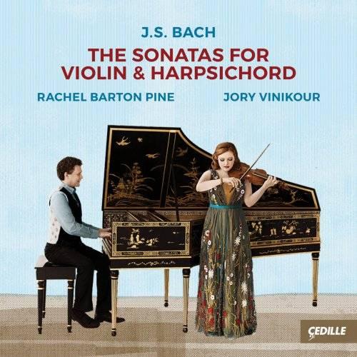 Rachel Barton Pine & Jory Vinikour - J.S. Bach: The Sonatas for Violin & Harpsichord (2018) [Official Digital Download 24/96]