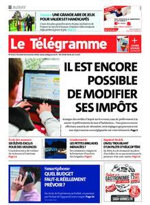 Le Télégramme Auray – 29 novembre 2019