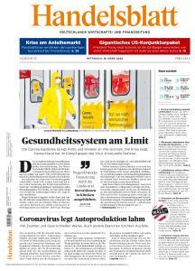 Handelsblatt - 18 März 2020