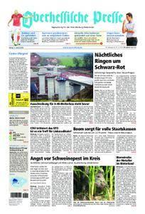 Oberhessische Presse Marburg/Ostkreis - 12. Januar 2018
