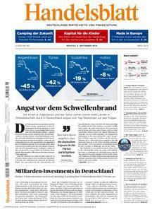 Handelsblatt - 03. September 2018