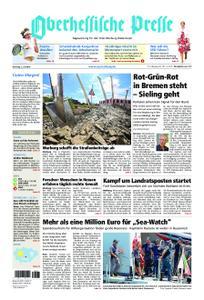 Oberhessische Presse Marburg/Ostkreis - 02. Juli 2019
