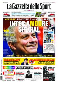 La Gazzetta dello Sport – 22 maggio 2020