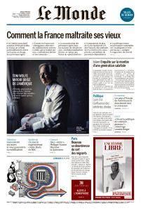 Le Monde du Jeudi 17 Mai 2018