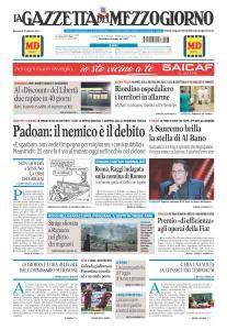 La Gazzetta del Mezzogiorno - 8 Febbraio 2017