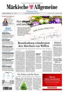Märkische Allgemeine Fläming Echo - 22. Dezember 2017